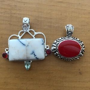 Sterling silver pendant set Mix and Match